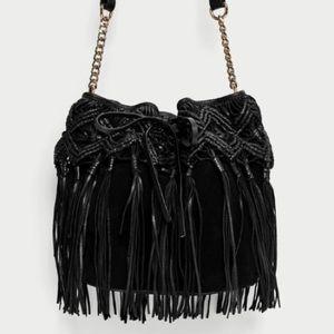 Zara real leather Bag